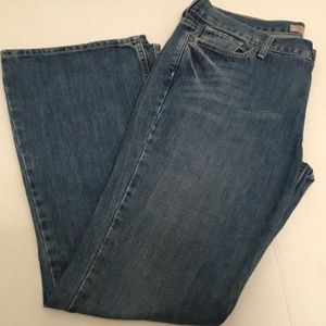Old Navy Flare Jeans Ultra Low Waist Size 14